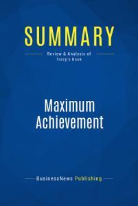 Summary  Maximum Achievement Book