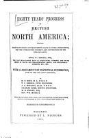 Eighty Years  Progress of British North America PDF