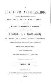 Y Cenhadwr americanaidd: Volume 40