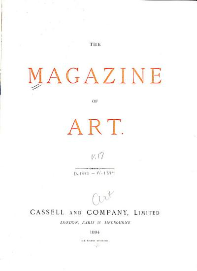The Magazine of Art PDF