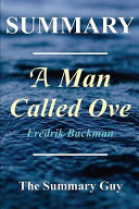 Download Summary   a Man Named Ove Book