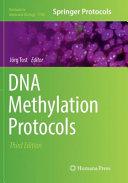 DNA Methylation Protocols