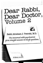 Dear Rabbi  Dear Doctor PDF