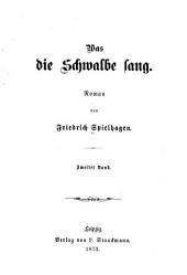 Was die Schwalbe sang: Roman, Band 2