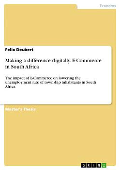 Making a difference digitally  E Commerce in South Africa PDF