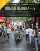 Human Geography For The Ap Course Book PDF