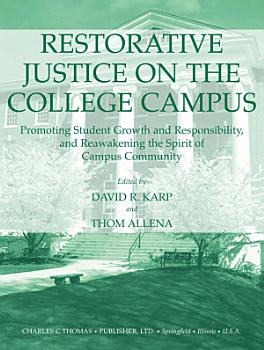 Restorative Justice on the College Campus PDF