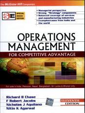 Operations Management for Competitive Advantage PDF