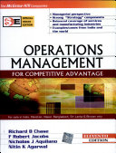 Operations Management for Competitive Advantage PDF