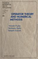 Operator Theory and Numerical Methods PDF