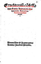 Eruditorium confessorum