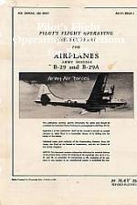 Pilot's Flight Operating Instructions for B-29