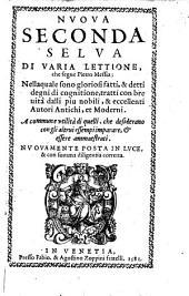 Nuova seconda selva di varia lettione ... nuovamente posta in luce (da Dionigi da Fano Bartolomes.)