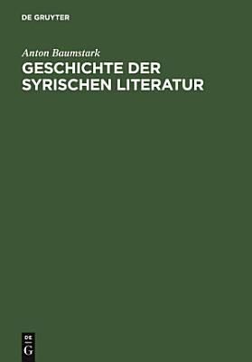 Geschichte der syrischen Literatur PDF