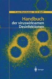 Handbuch der viruswirksamen Desinfektion