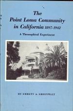 The Point Loma Community in Califorina