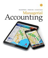 Managerial Accounting: Edition 14