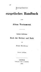 Das Buch der Richter und Ruth