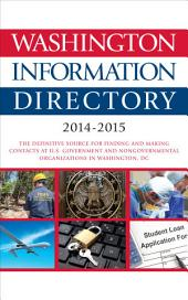 Washington Information Directory: 2014-2015