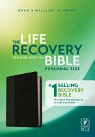 NLT Life Recovery Bible  Second Edition  Personal Size  Leatherlike  Black Onyx  PDF