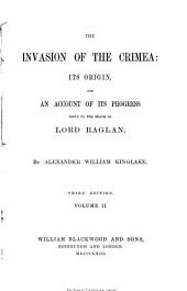 The Invasion of the Crimea: Invasion of the Crimea. 4th ed. 1863