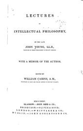 Lectures on Intellectual Philosophy