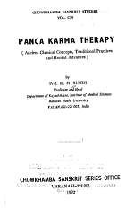 Panca Karma Therapy