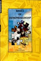 Basics of Entrepreneurship PDF