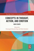 Concepts in Thought  Action  and Emotion PDF