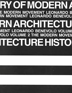History of Modern Architecture Book