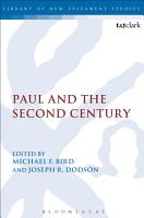Paul and the Second Century PDF
