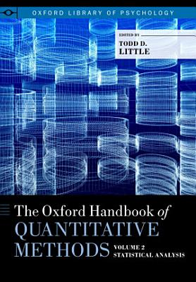 The Oxford Handbook of Quantitative Methods in Psychology PDF