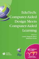 EduTech  Computer Aided Design Meets Computer Aided Learning PDF