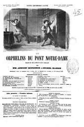 Les orphelins du pont Nôtre-Dame drame en cinq actes et huit tableaux par Annicet Bourgeois et Michel Masson