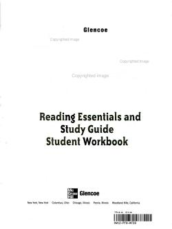The World and Its People  Reading Essentials and Study Guide  Student Workbook PDF