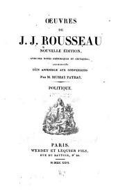 Oeuvres de J.J. Rousseau: Volume5