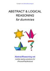 Abstract & Logical Reasoning for Dummies: by AbstractReasoning.eu