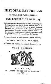 Histoire naturelle, générale et particulière: Volume4;Volume11