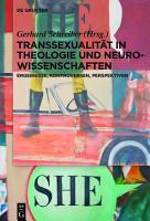 Transsexualit  t in Theologie und Neurowissenschaften PDF