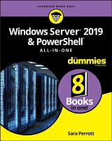 Windows Server 2019   PowerShell All in One For Dummies PDF