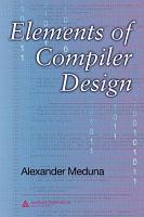 Elements of Compiler Design PDF