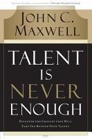 Talent Is Never Enough PDF