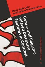 Genre  and Register related Discourse Features in Contrast PDF