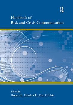 Handbook of Risk and Crisis Communication PDF