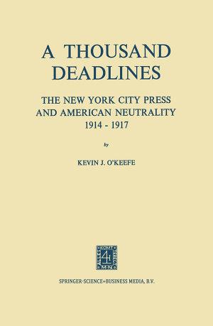 A Thousand Deadlines