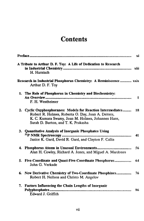 Phosphorus Chemistry PDF