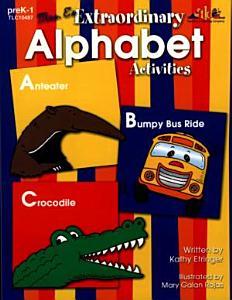 Mrs  E s Extraordinary Alphabet Activities  ENHANCED eBook  PDF