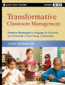 Transformative Classroom Management PDF