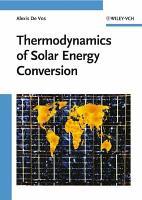 Thermodynamics of Solar Energy Conversion PDF