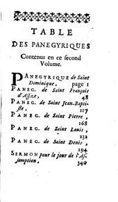 Panegyriques et Oraisons funebres: Volume2